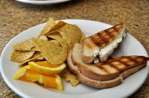 Grilled Cheese at Common Roots - by Amber Gehrke