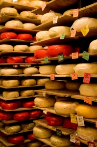 Aging Cheese - by Meredith Hart